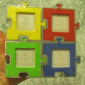 Sonoma 4 Puzzle Picture Frames That Fit Together